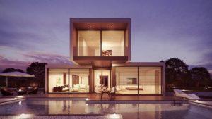 maison en cube
